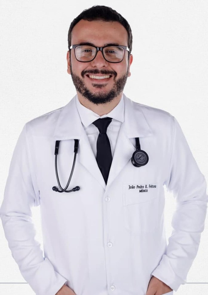 Dr João Pedro Feitosa died of complications from coronavirus while participating in jab testing