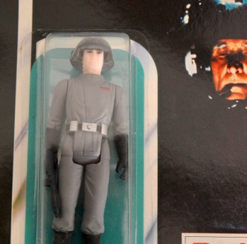 Auctioneers haven't been able to put a price on a Star Destroyer Commander, which is one of only two known to exist in the original packaging
