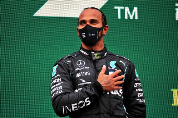 Lewis Hamilton is eyeing a record eighth world title