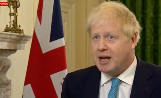 Boris Johnson said the UK is ready to walk away from talks