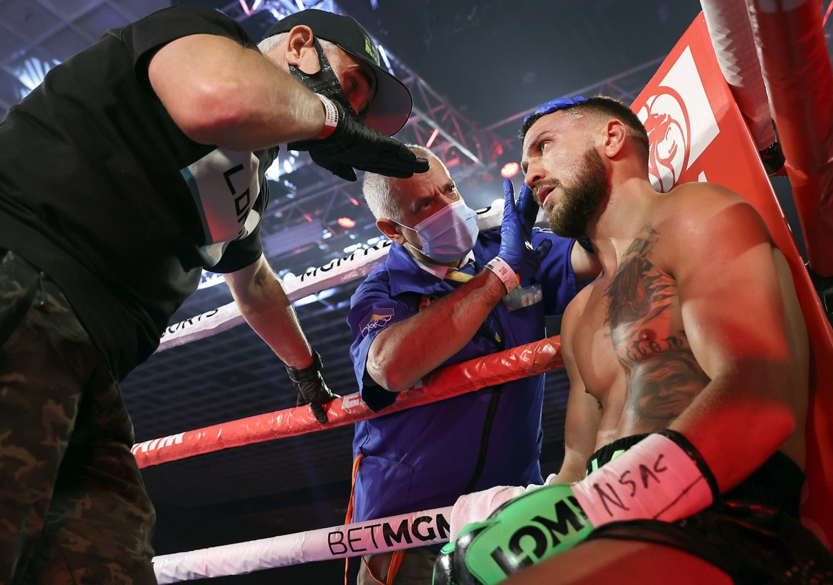 Lomachenko undergoes shoulder surgery as manager reveals his dad wanted him  to pull out of Lopez fight due to injury
