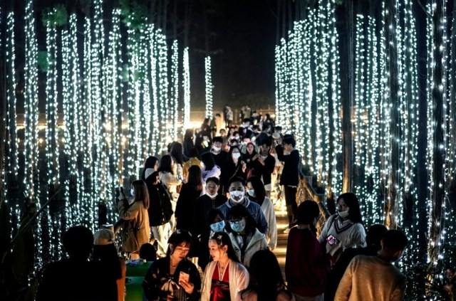 Wuhan celebrates Halloween as it is scrapped in several countries around the world