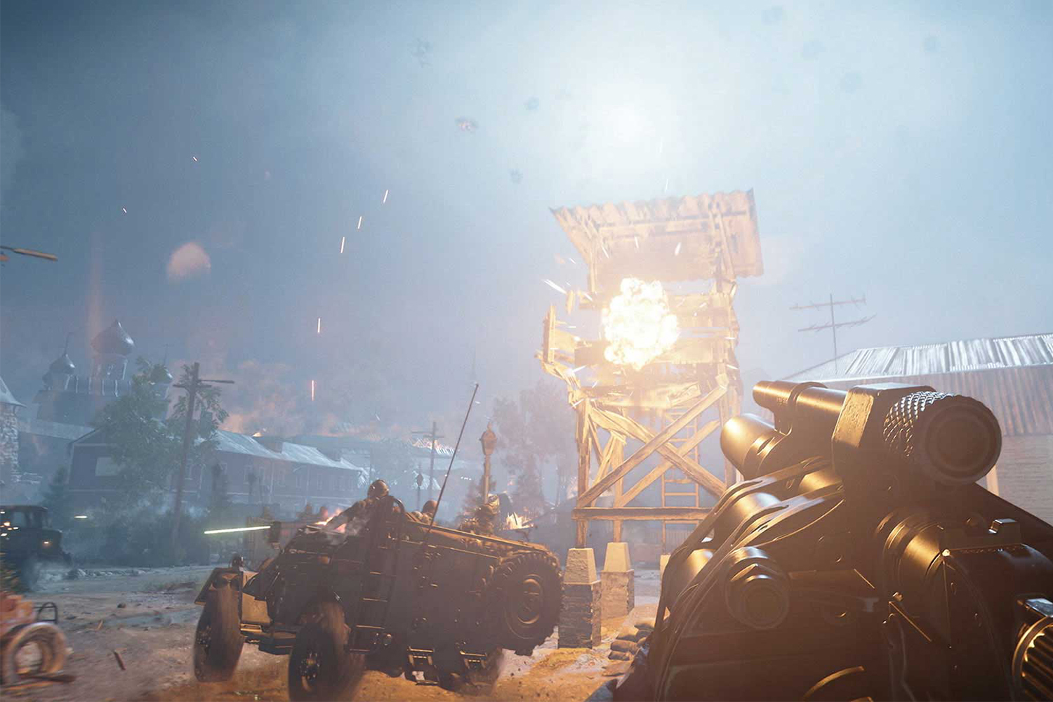You can play in 4K with ray tracing turned on if you've got a sufficiently beefy PC