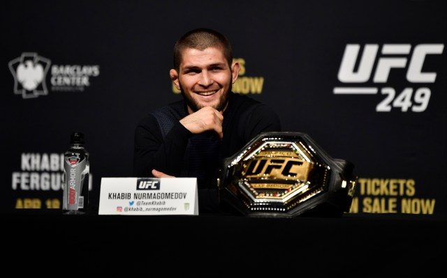 Khabib's makes the next defence of his title at UFC 254