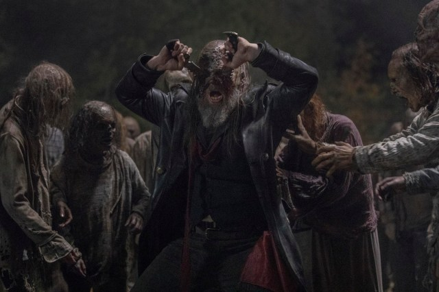 The Walking Dead's Beta actor reveals why he let himself get eaten alive in gory death scenes