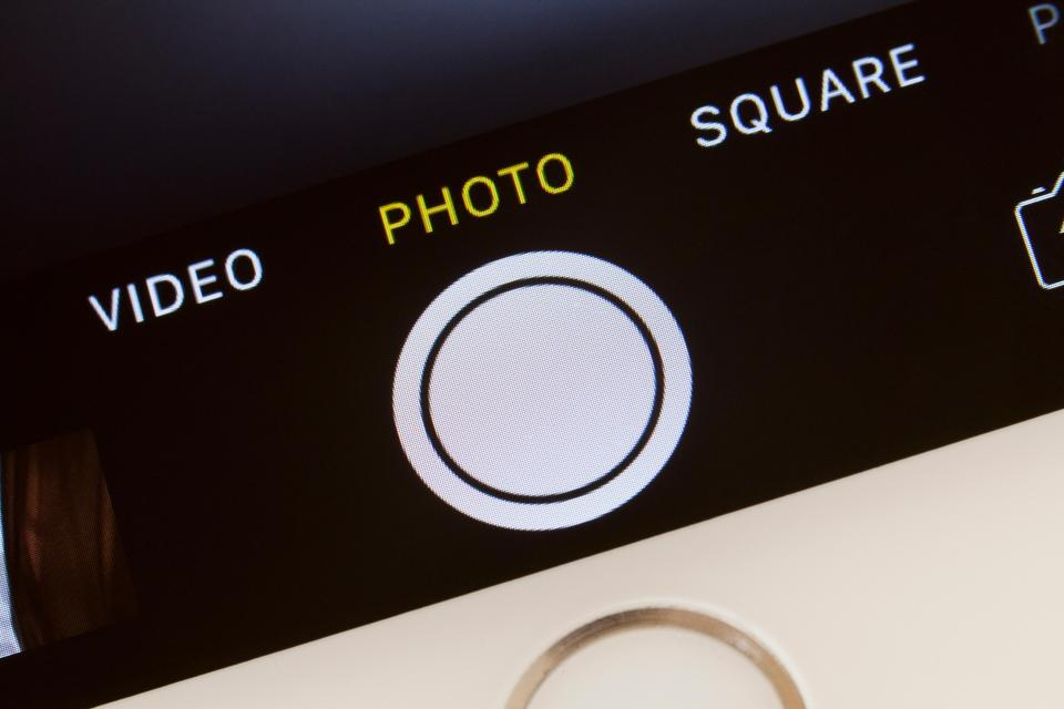 Your iPhone camera roll has a feature that lets you hide photos