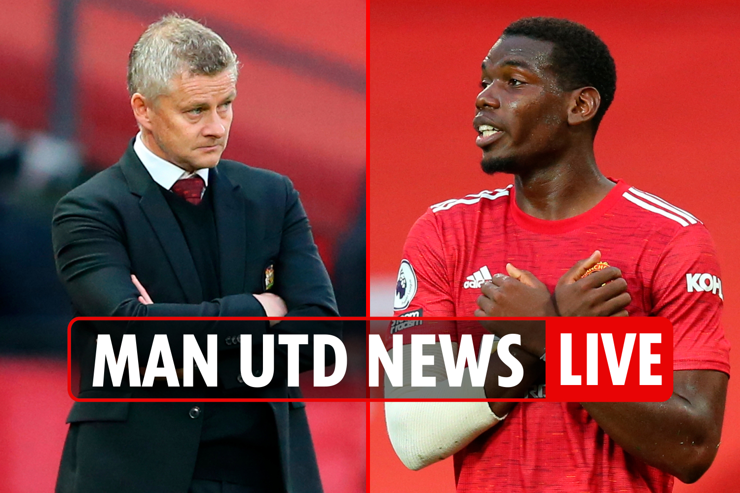 12pm Man Utd news LIVE: Bruno target for Real Madrid and Barca, Pogba contract EXTENDED, Maguire DOUBT for Newcastle