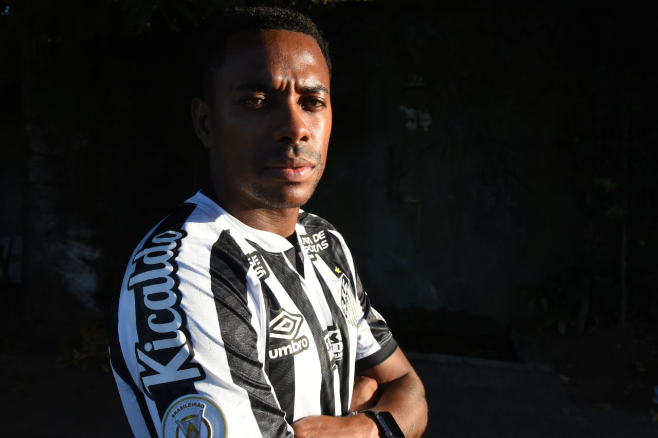 Robinho leaves Santos less than a WEEK after joining following controversy over the ex-Man City striker's arrival