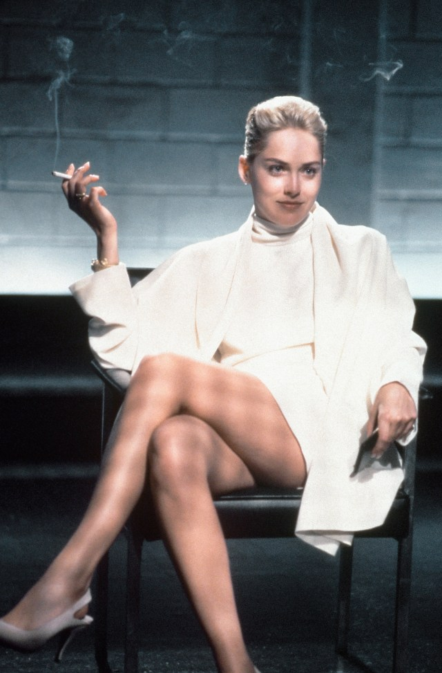 The actress shot to fame in Basic Instinct in 1992