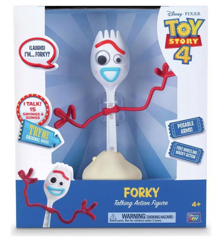 Disney Toy Story 4 8in Forky is now £ 10 at Argos