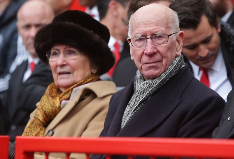 Sir Bobby Charlton's wife Norma has revealed the football legend is battling dementia