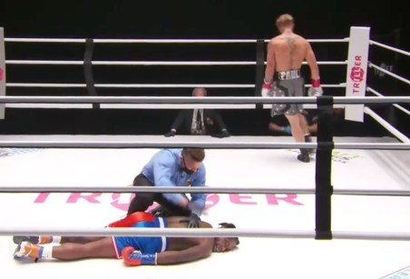 Jake Paul DESTROYS Nate Robinson as medics rush into ring after heavy knockout as Snoop Dogg calls it a 'Hood fight'
