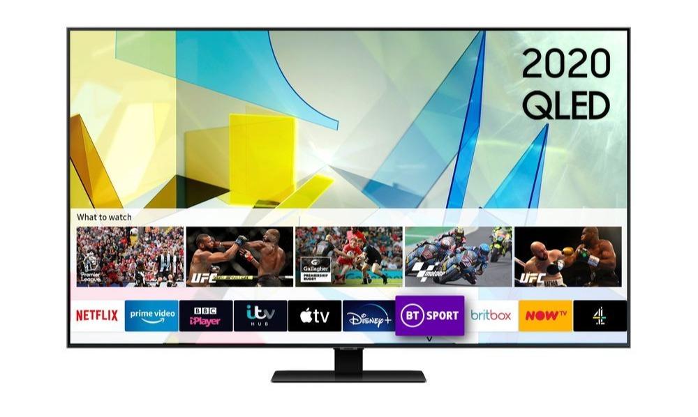 The savings are on Samsung's latest 2020 range of 4K TVs