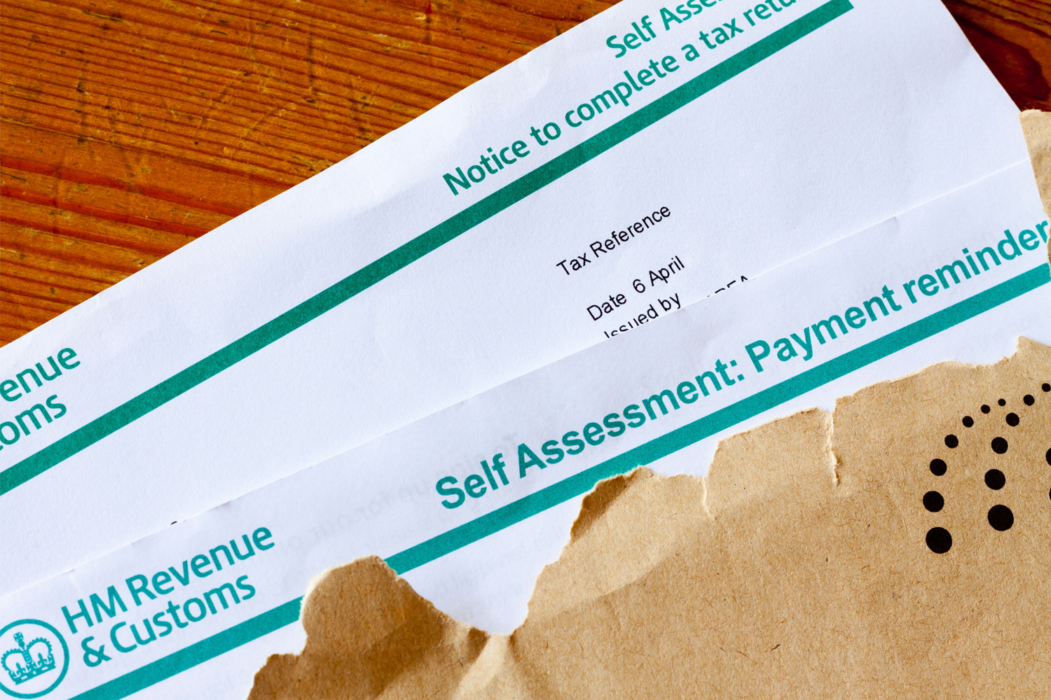 Those who are self-employed have to fill out their own tax returns, rather than having an employer deduct PAYE for them