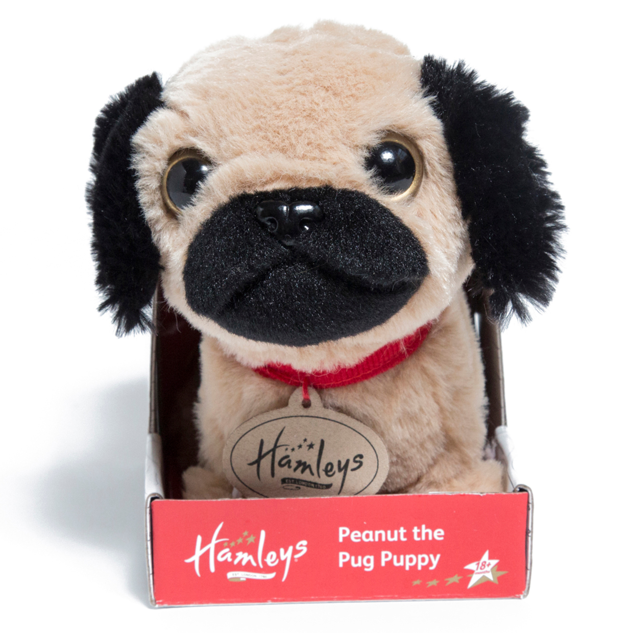 You can buy Peanut the pug from Hamleys