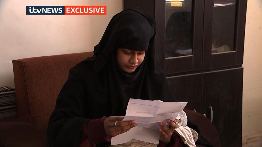 Begum describió la decisión del Ministerio del Interior de despojarla de su ciudadanía del Reino Unido y la calificó de 'desgarradora' e 'injusta'