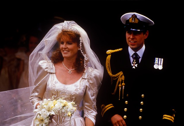 Prince Andrew's split from Fergie was part of the 'annus horribilis'