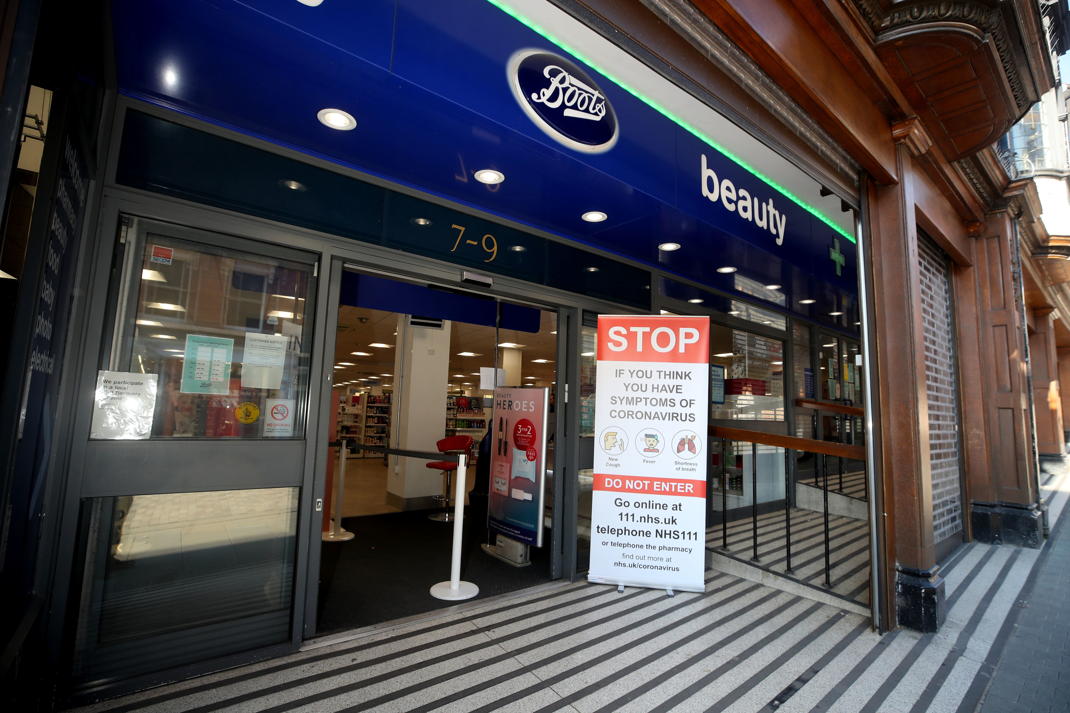Boots is one of the retailers which will be allowed to stay open