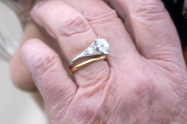 The Queen's wedding ring has a secret message from her husband