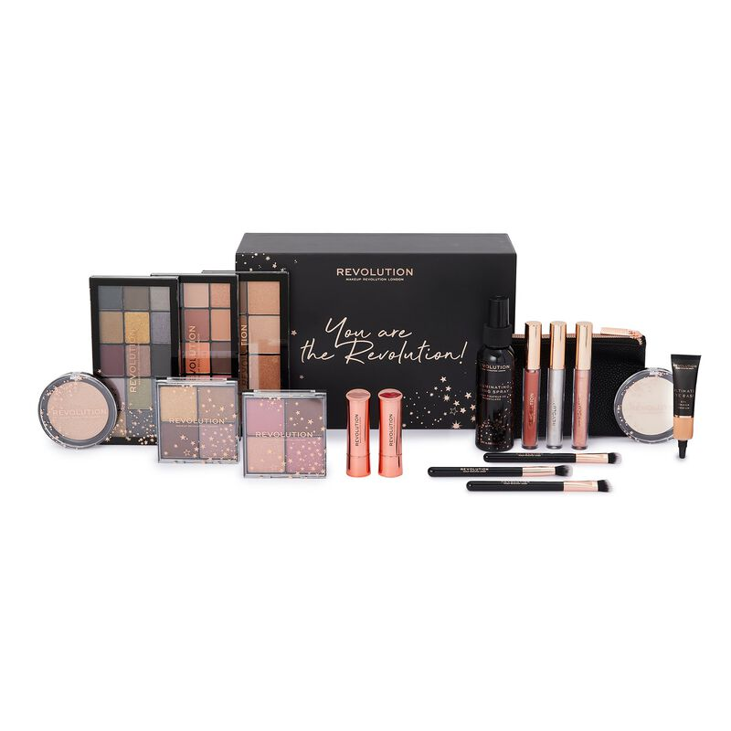 The You Are The Revolution make-up set by Revolution is just £30 at Superdrug