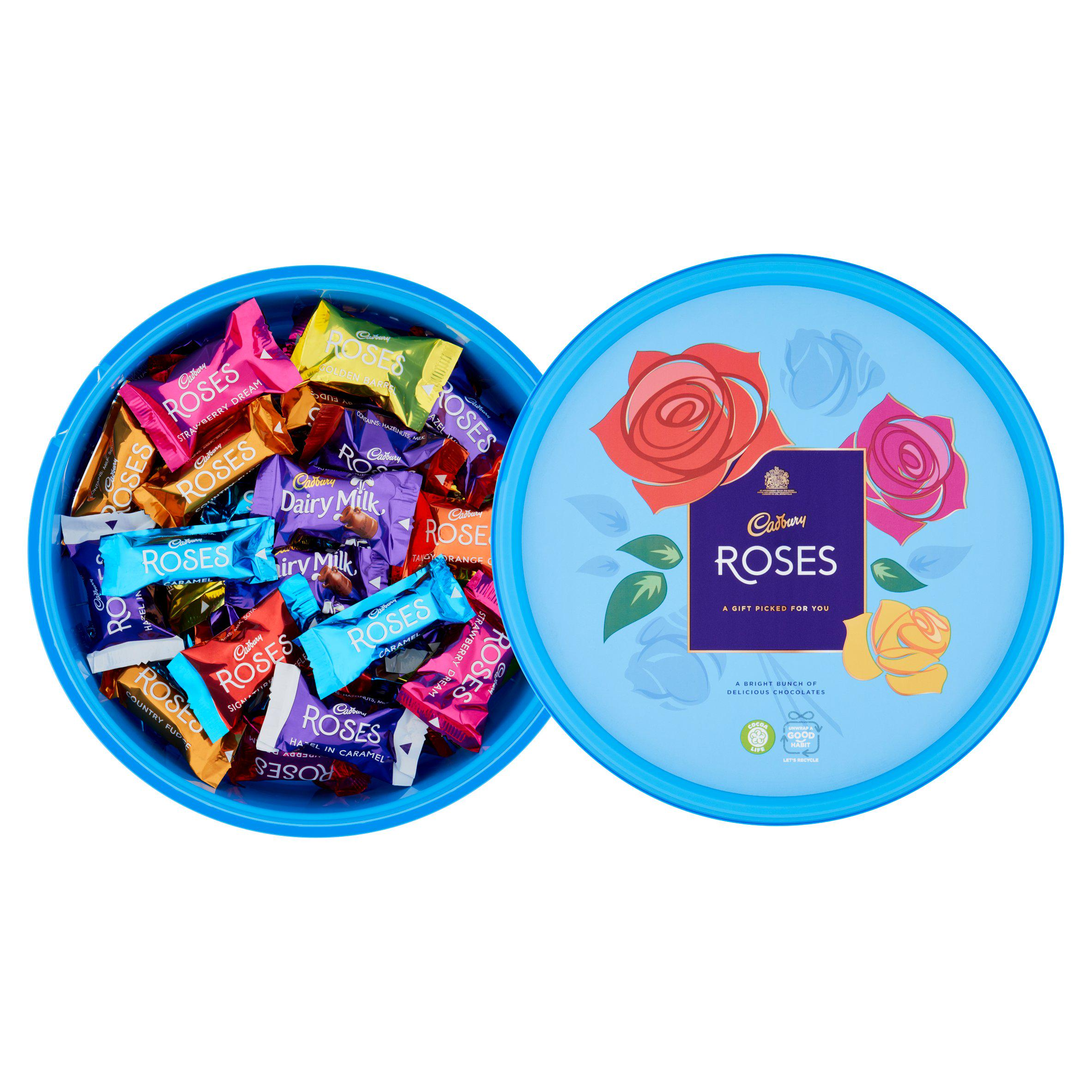 Everyone loves a tub of Roses at Christmas, but you could save £1.50 by switching to Sainsbury's Chocolate Treats