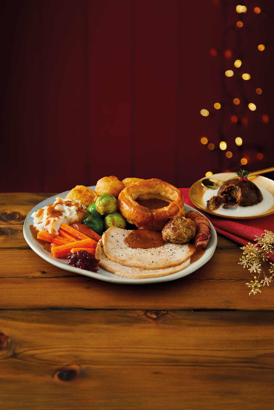 Morrisons is selling takeaway Christmas dinner and pudding from £5.50