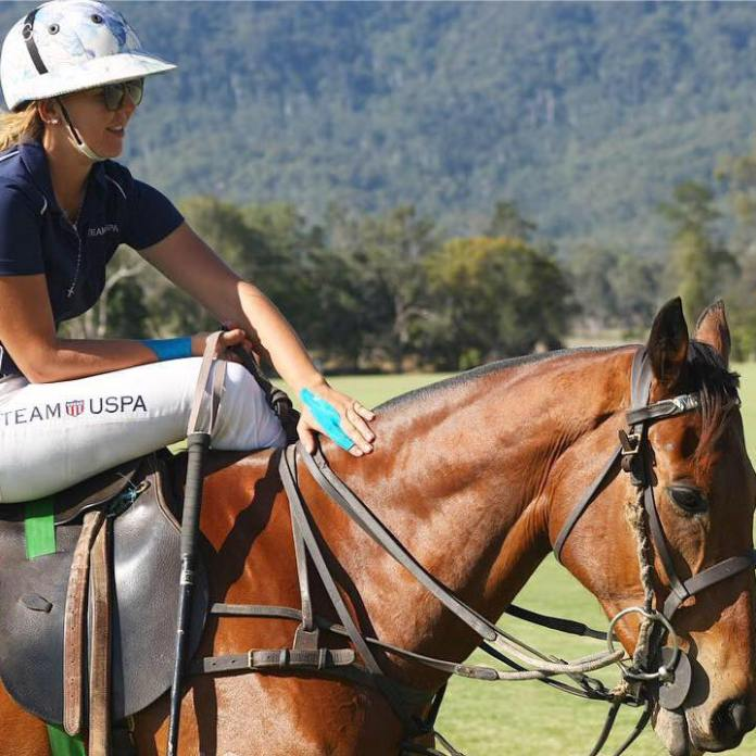 Lauren was a US polo player