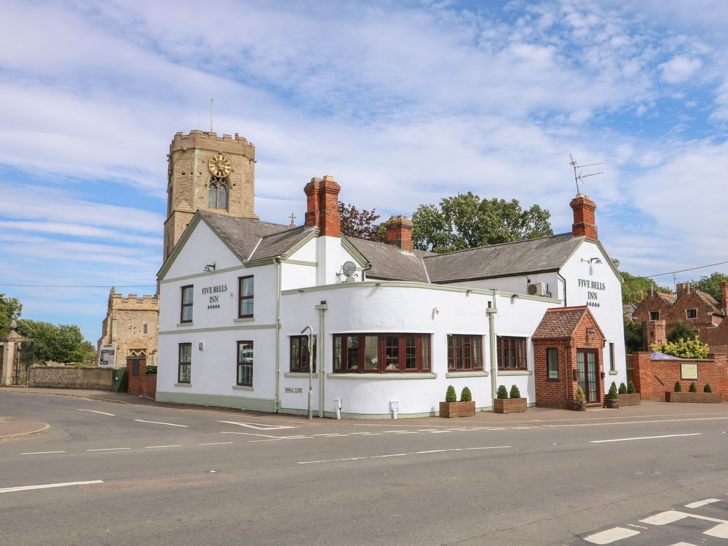 The Five Bells Inn has two bars