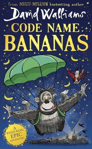 David Walliams' book Code Name Bananas is almost half the price at WH Smith