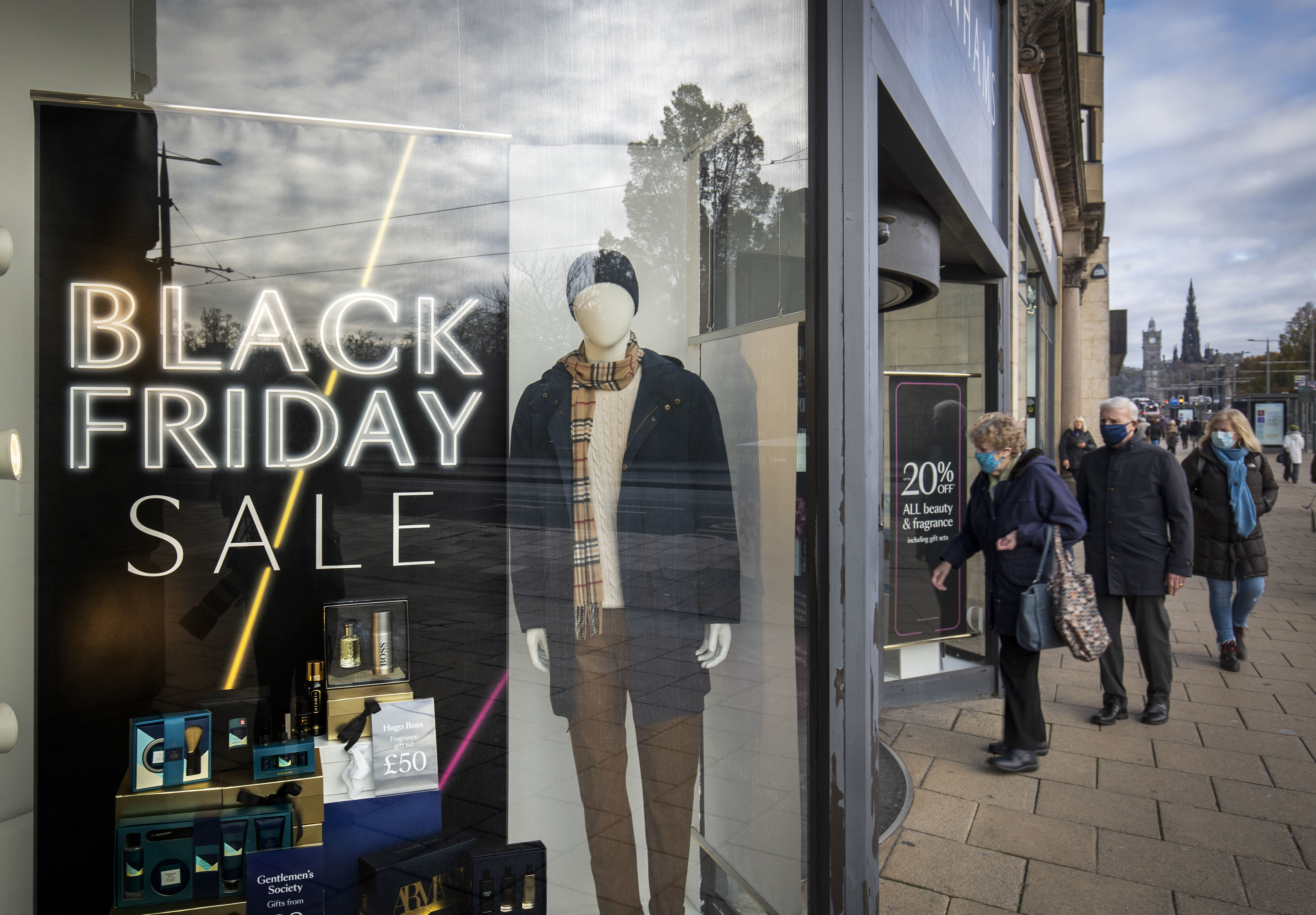 Record turnout for shoppers is expected online this Black Friday