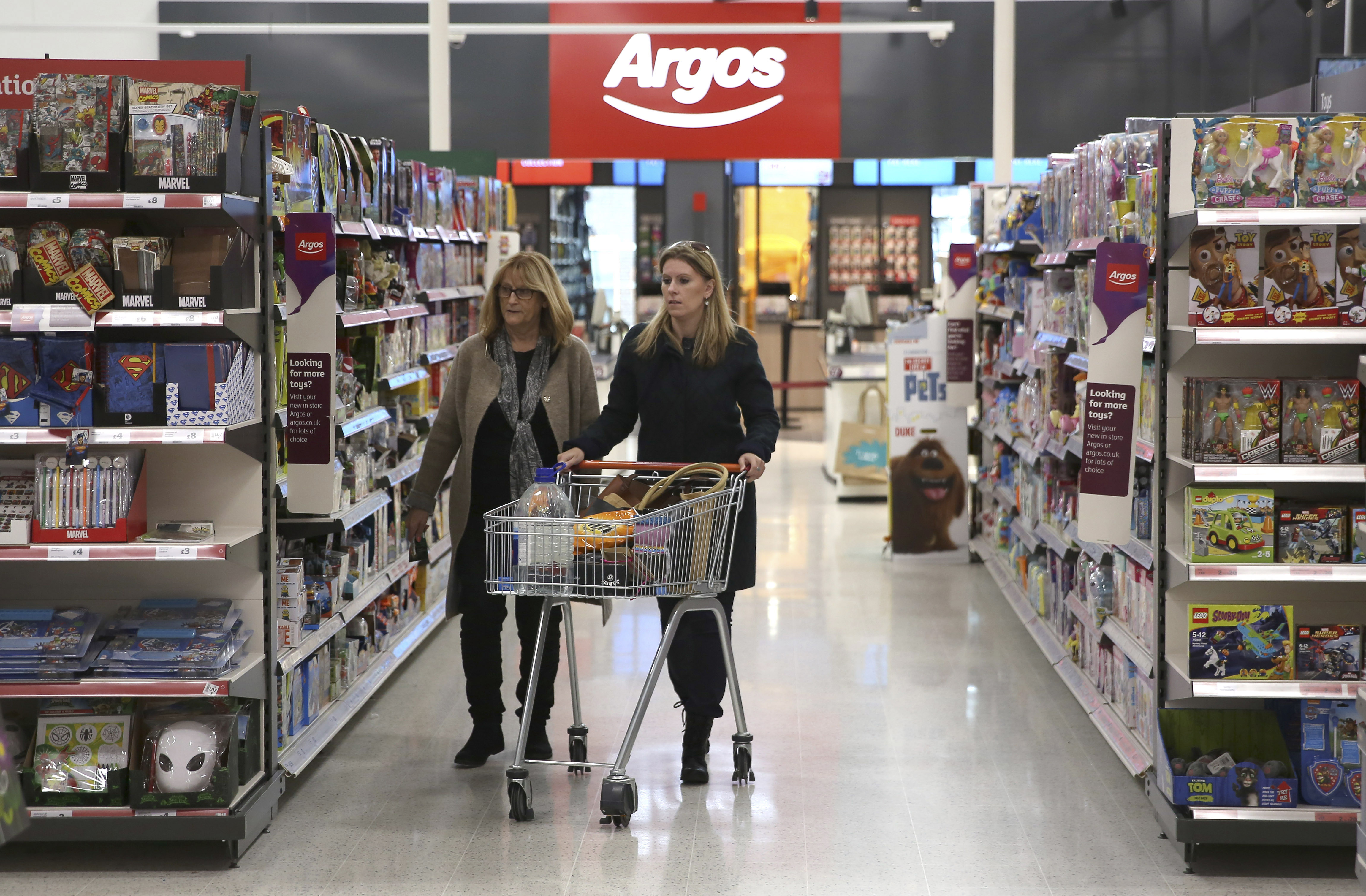 Argos plans to close its doors from Thursday as the new lockdown kicks in