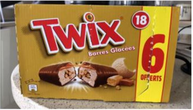 Twix ice creams from Iceland could contain nuts and other allergens