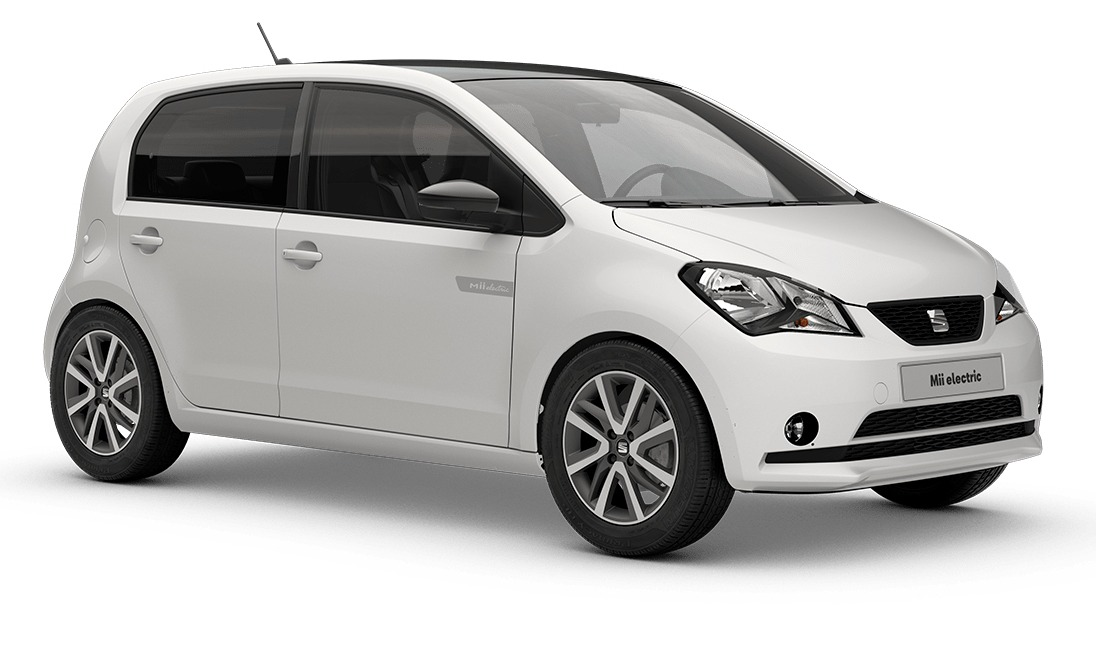 SEAT e-Mii Electric car is a re-badged version of the Skoda vehicle