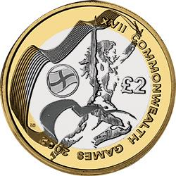 The second most valuable is the England Commonwealth Games coin