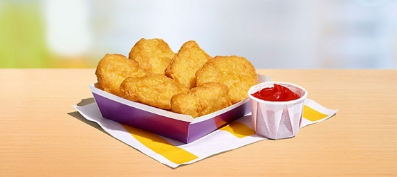 Get six chicken McNuggets for just 99p on the McDonald's app