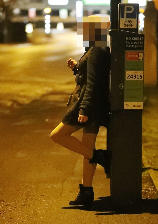 Campaigners say some sex workers in Leeds - which has a legal red light district - are trafficked from Romania