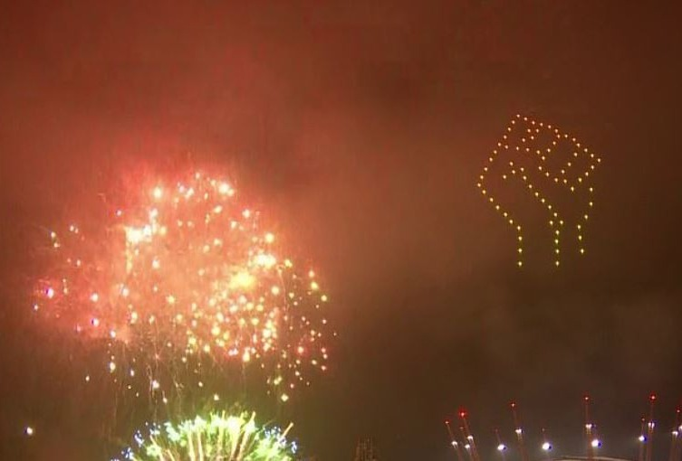OUTRAGE BBC gets 500 complaints from furious viewers over Black Lives Matter tribute in NYE fireworks display