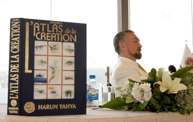 Oktar came under fire for the wide distribution of his book, The Atlas of Creation