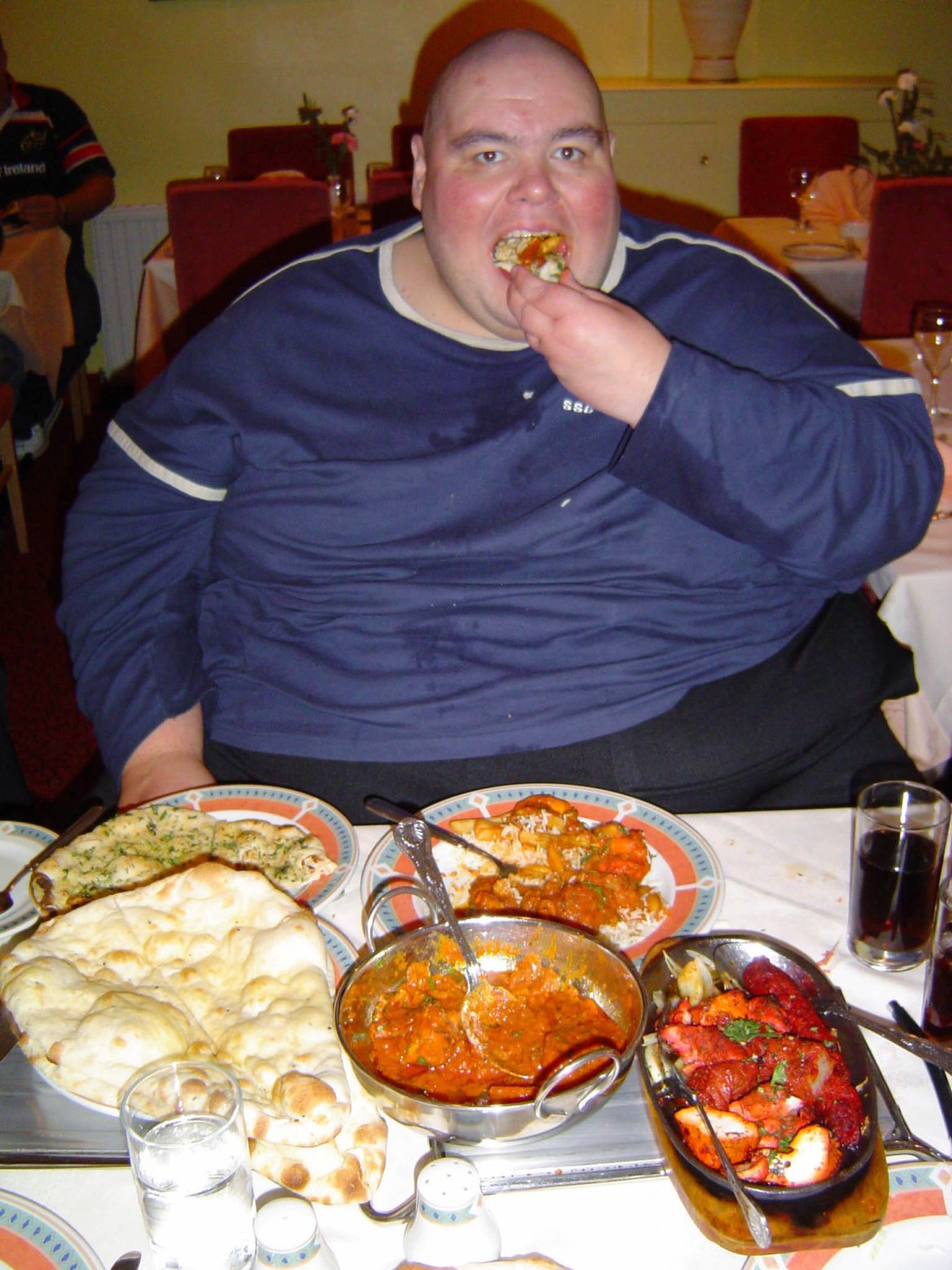 Barry once starred in Sky One documentary Inside Britain's Fattest Man