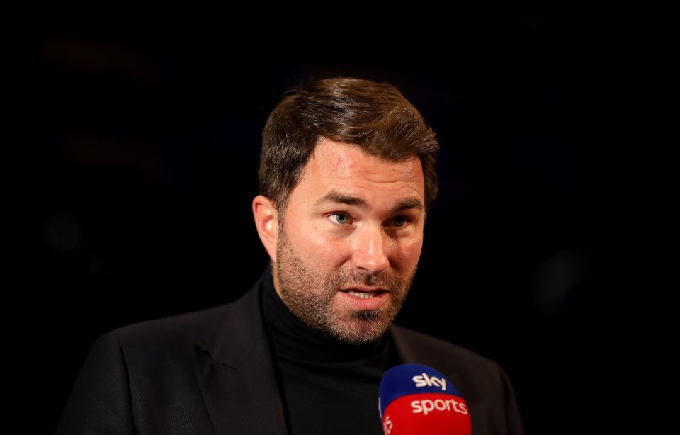 Eddie Hearn says the fight will be signed in the next four weeks