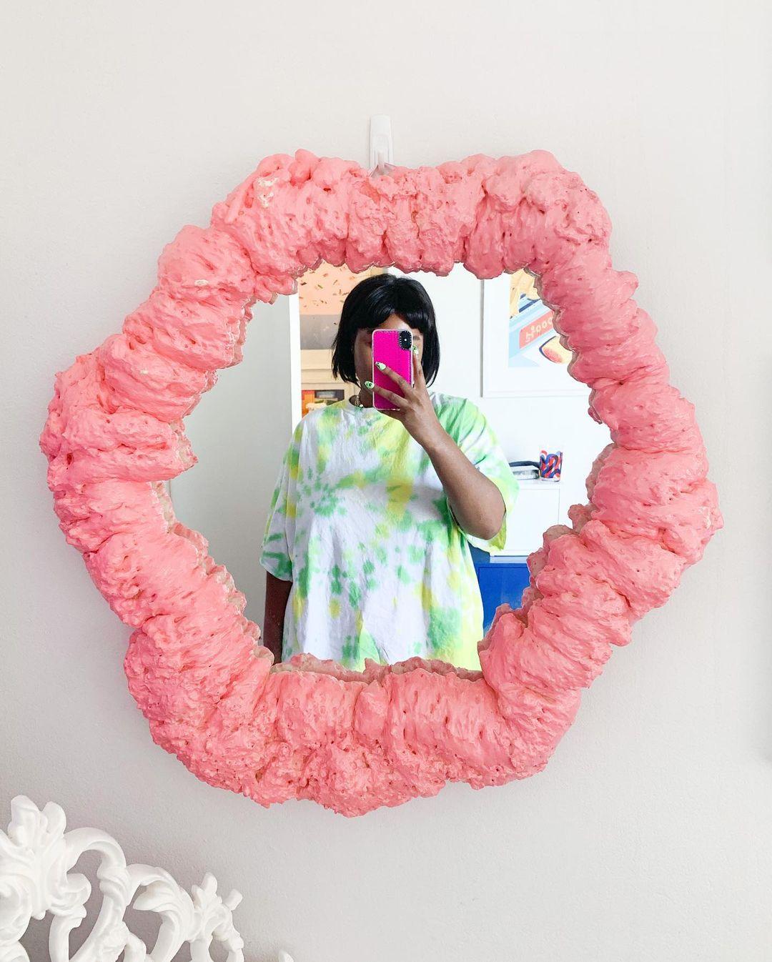 The foam mirror trend started on Instagram
