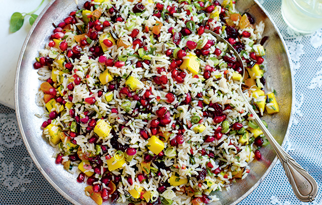 This rice salad makes a healthy but delicious meal