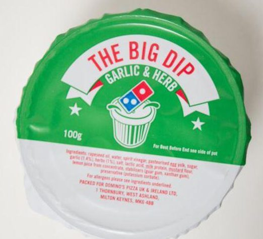 There's no need to spend £1.69 on the Domino's garlic and herb dip...