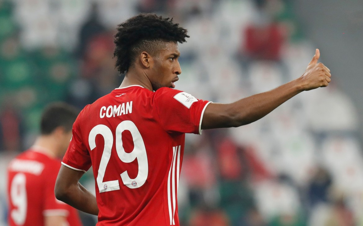 Image result for Bayern Munich fear Kingsley Coman could reject a new contract