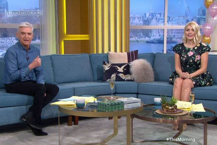 Phillip read an emotional poem to Holly live on air yesterday