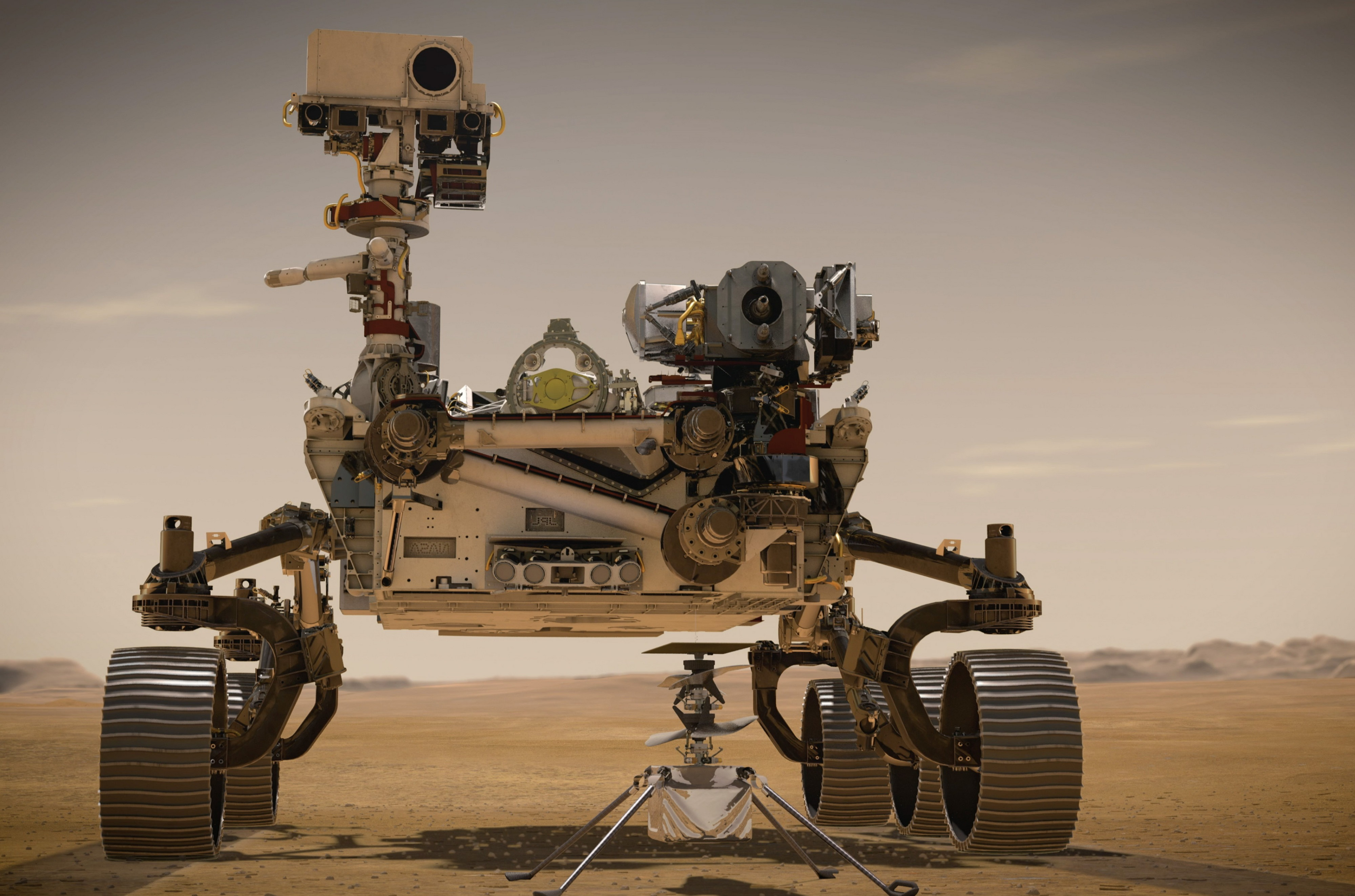 NASA's Perseverance rover reaches speeds of nearly 12,500 mph