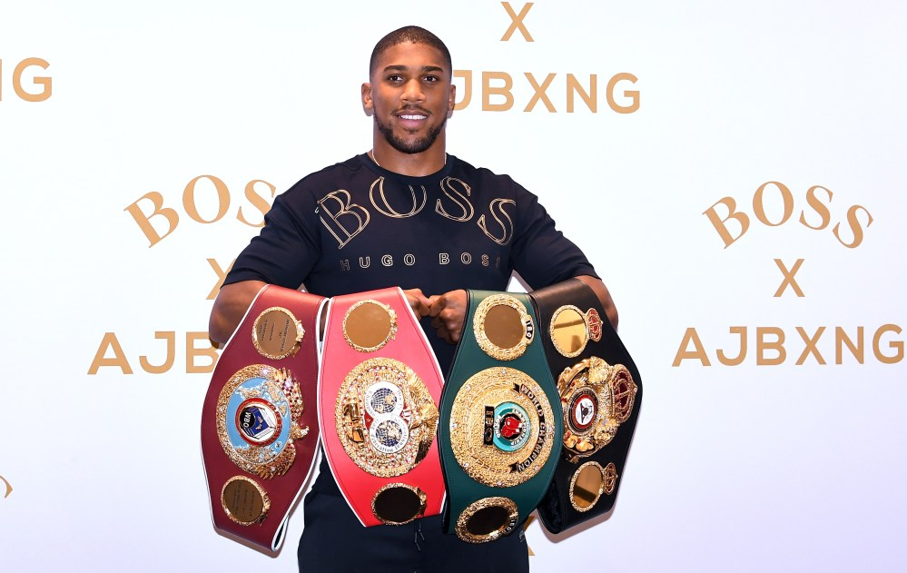 Anthony Joshua has announced his plans to retire within five years