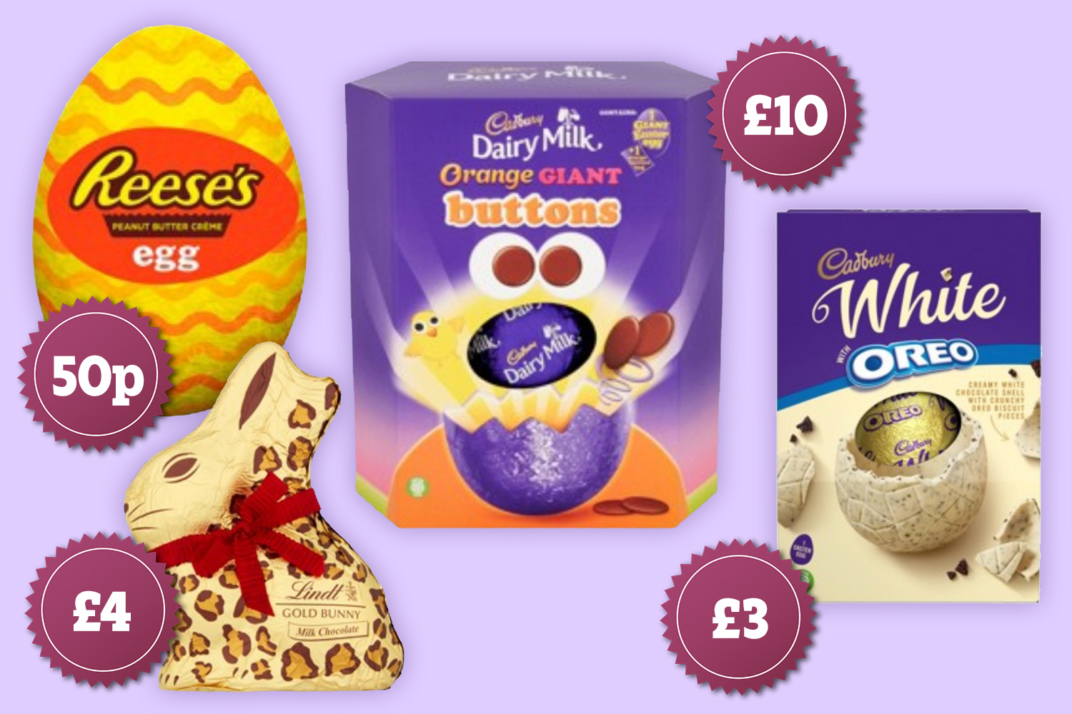 A whole range of EGG-CELLENT offers available