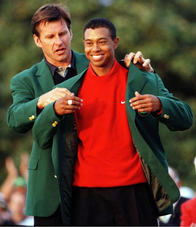 He won the 1997 Masters when he was just 21