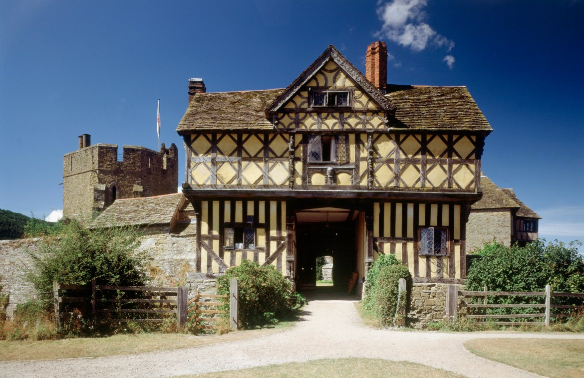This rural journey edges past 13th century Stokesay Castle